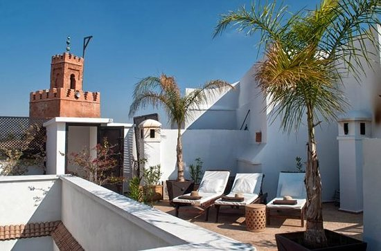Riad Capaldi: Roof terrace