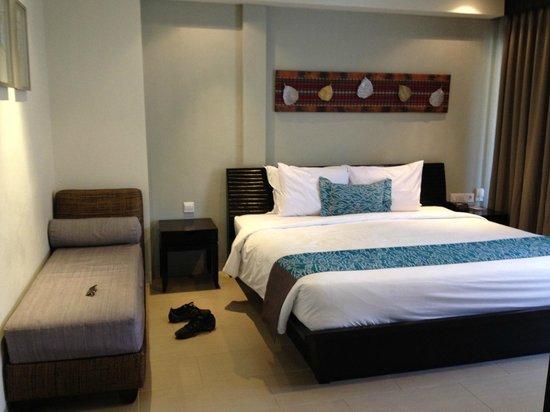The Camakila Legian Bali: Huge and comfortable room 1302