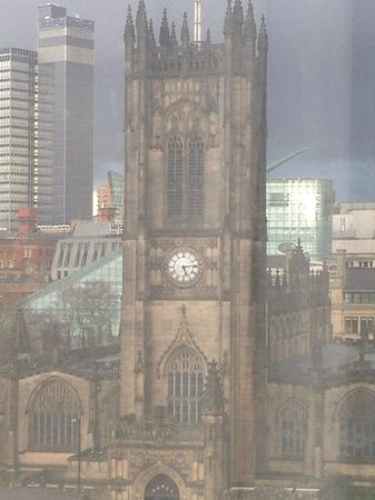 Premier Inn Manchester City Centre (Arena/Printworks) Hotel : Another view from the 7th floor
