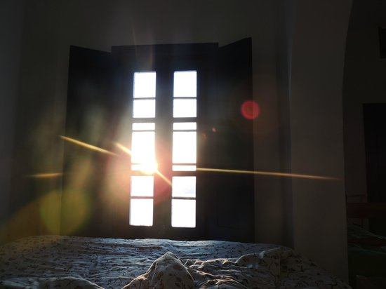 Heliotopos Hotel: vista desde la cama