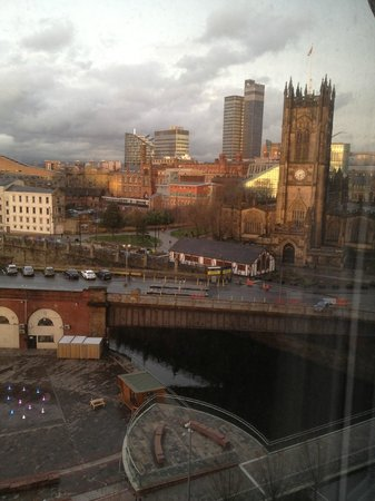 Premier Inn Manchester City Centre (Arena/Printworks) Hotel: View from the 7th floor