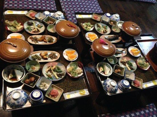 Iccha : Delicious dinner spread