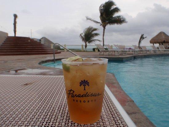 Paradisus Cancun: Ottimo drink al Paradisus