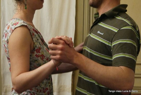 Tango Classes with Lucia & Gerry: Such style: preparing for the ocho cortado