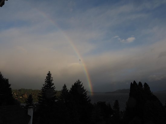 Altuen Hotel Suites&Spa: Rainbow morning