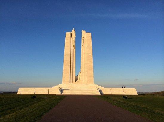 Mémorial de Vimy : Impressionnant
