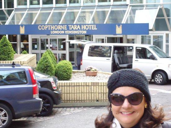 Copthorne Tara Hotel London Kensington: em frente ao Copthorne Tara Hotel, Londres