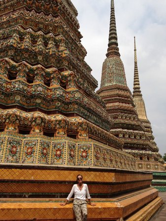 Temple du Bouddha Couché (Wat Pho) : Stupas at Wat Pho