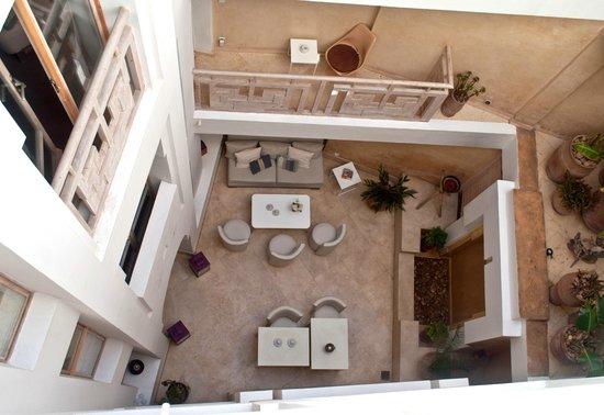Dar Maya: The riad courtyard