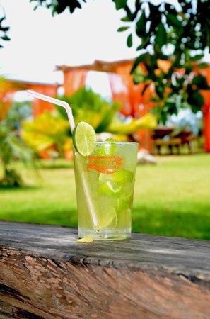 Pousada Encontro das Aguas: drink servido em qualquer lugar da pousada