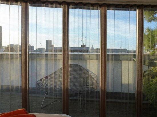 The Zetter Hotel: View from bed