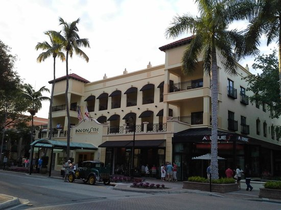 Inn on Fifth : Street View of the Inn on 5th, Naples, Florida