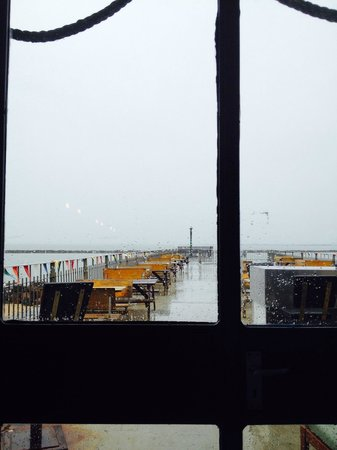 Royal Harbour Brasserie: Only the brave