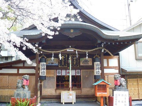 Tsuyunoten Shrine: 「金比羅宮」と「水天宮」