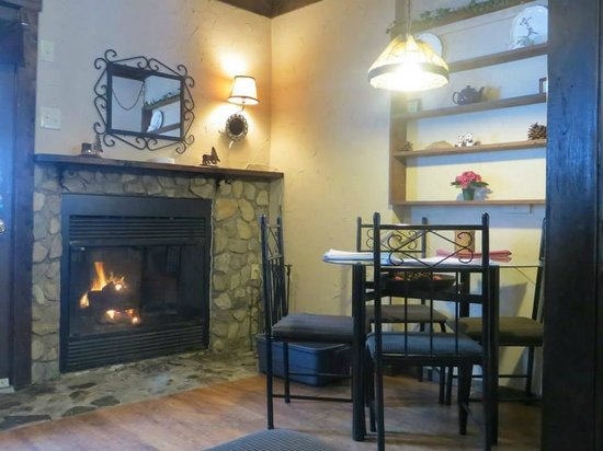 Larsen's Log Lodge : The is the Fireside Suite