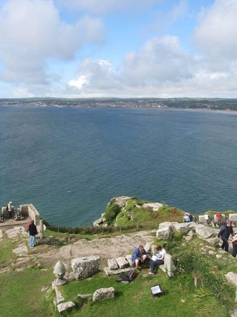 Mount Haven Hotel & Restaurant: View from St Michaels Mount
