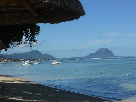 Hilton Mauritius Resort & Spa : vue de la plage, superbe