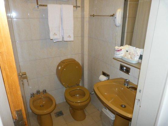 Hotel Sheltown: Baño
