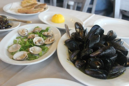 Marina Seafood : мидии, устрицы