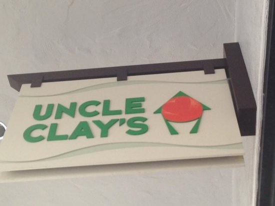 Uncle Clay's House of Pure Aloha: Sign
