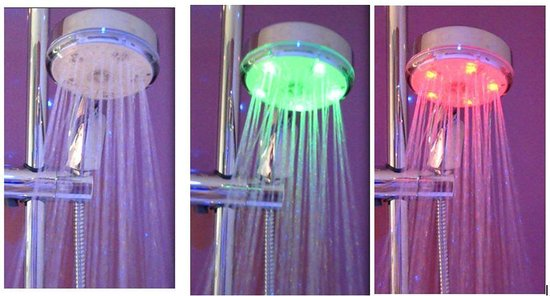ibis Styles Blois Centre Gare: Shower head with light