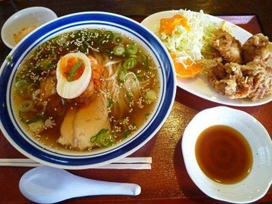 Tenshinken : 冷麺&鶏天