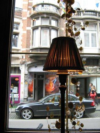 Troubadour: The view onto the Tiensestraat