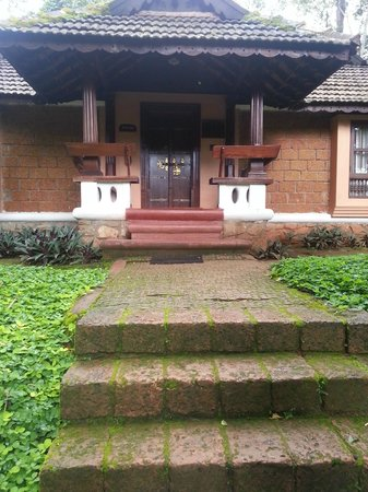 Evolve Back, Coorg: The entrance to our cottage