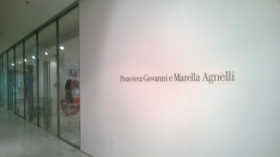 Giovanni and Marella Agnelli Picture Gallery: Pinacoteca, ingresso
