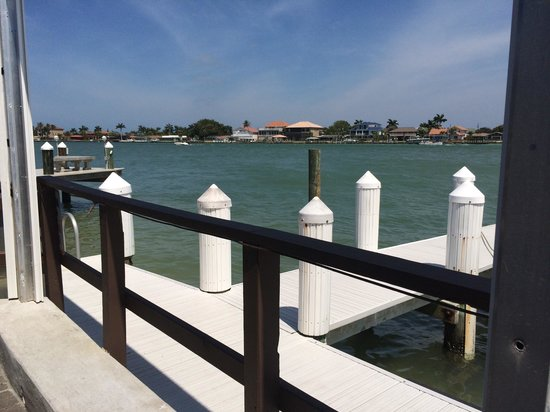 Snook Inn : Looking at the view from our table