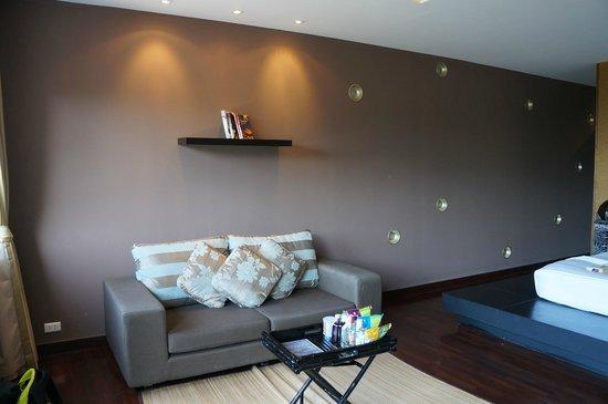 Mantra Samui Resort: Our sofa