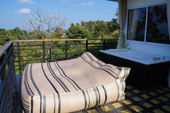 Mantra Samui Resort : Our awesome terrace!