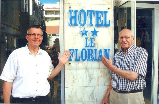 Hotel Le Florian: La Famille Giordano