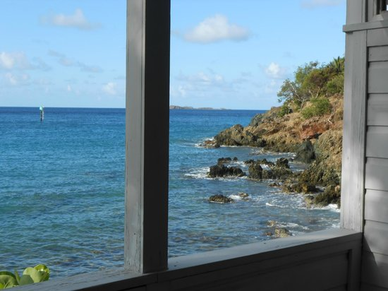 Coconut Coast Villas: View from our room