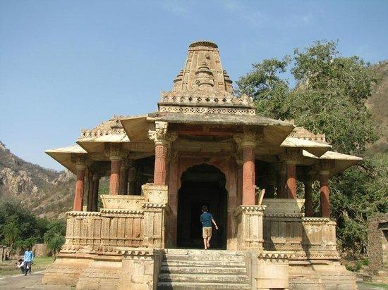 Dausa, India: temple