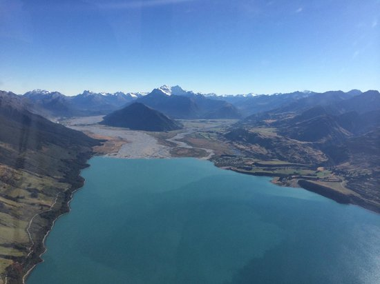 Heli Tours Queenstown: View of Glenorchy/Paradise