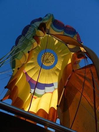 Napa Valley Balloons, Inc. : Don't Want to Leave the Basket...