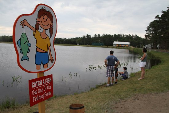Edaville Family Theme Park: Summer Fishing
