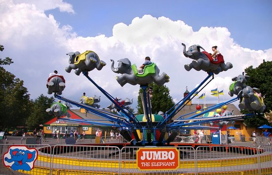 Edaville Family Theme Park: Flying Elephants