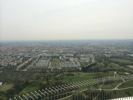 Olympiapark: View from the top