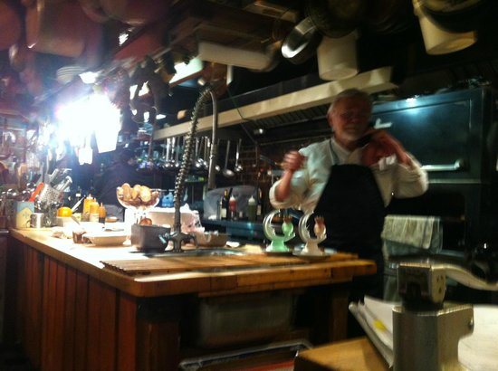 Depuy Canal House: Chef Novi at work in his Studio!