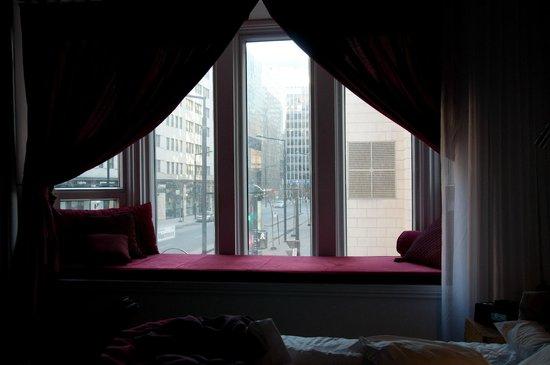Hotel Chez Swann: fenestration agréable