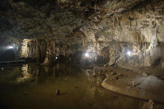 Moravian Karst: в пещере