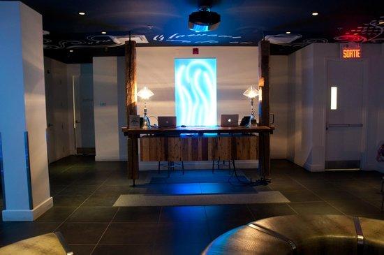 Hotel Chez Swann: réception