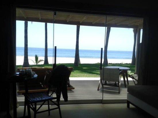 Arennas Mancora: Vista desde la habitación