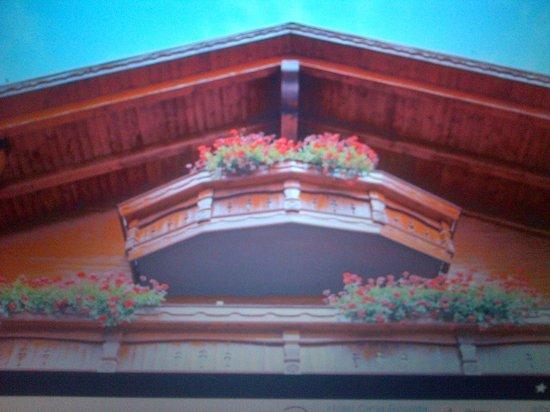 Hotel Cima Rosetta: balconcino