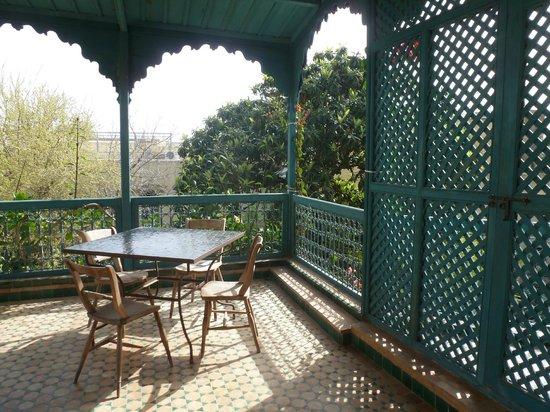 Le Jardin des Biehn: terrasse de la chambre