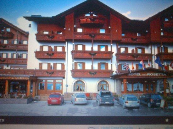 Hotel Cima Rosetta: ingresso hotel