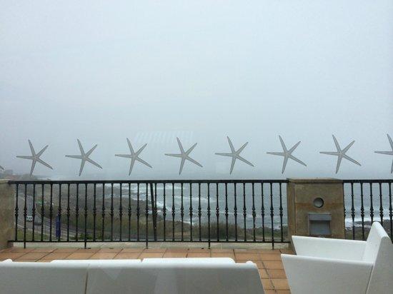 Talaso Atlantico: Vistas desde el restaurante