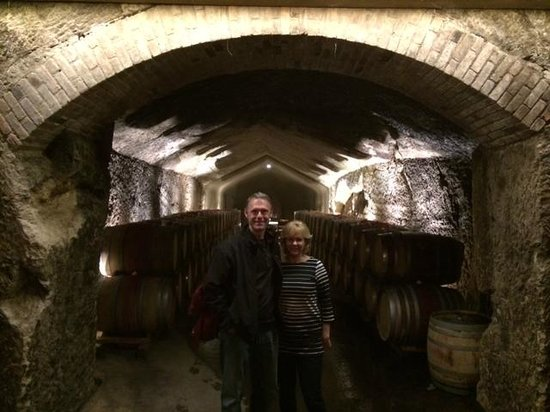 """Sonoma Segway: Inside one of the """"wine caves"""" we were allowed to visit!"""